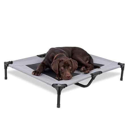 Internet's Best Dog Cot | 36 x 30 | Elevated Dog Bed | Cool Breathable Mesh | Indoor or Outdoor Use | Medium |