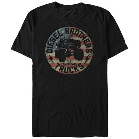Diesel Brothers Men's - Diesel Brothers All American Trucks (Vin Diesel Clothes)