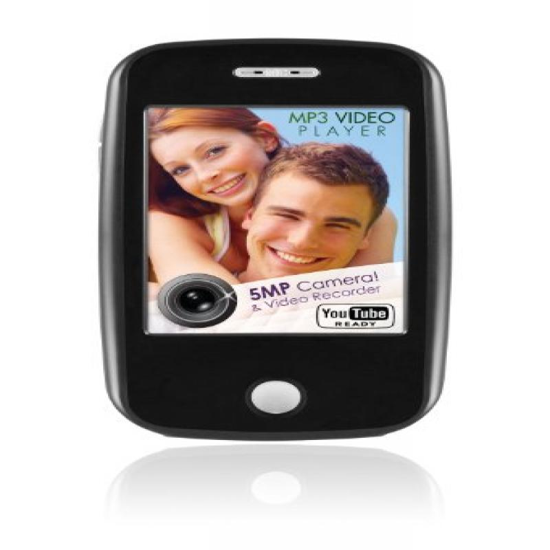 EMATIC Black Flash Portable Media Player