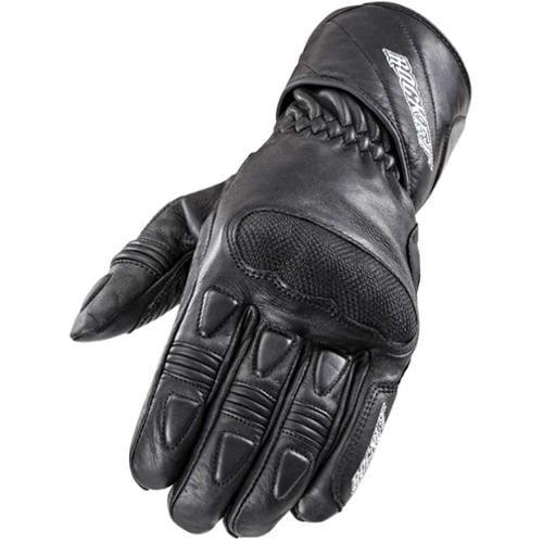 Joe Rocket Pro Street 2015 Mens Leather Gloves Black