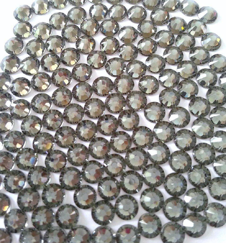 Black Diamond Swarovski Rhinestones FlatBack ss16 (144)