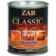 ZAR® 34812 Classic High Solid Polyurethane, Satin Sheen, 1 Qt