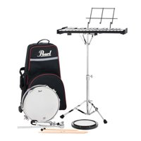 Pearl PL910C Snare & Bell Kit w/ Rolling Cart