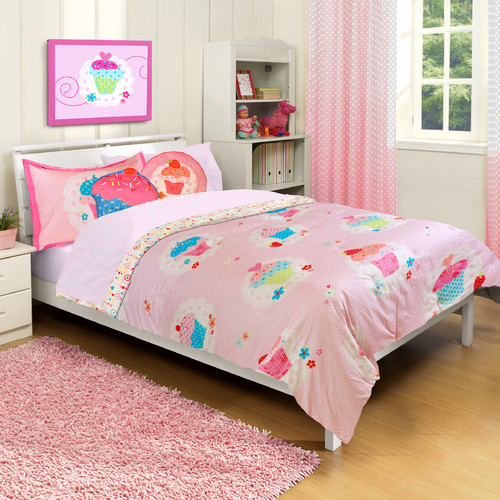 Heritage Kids Cupcake Dreams Comforter Set