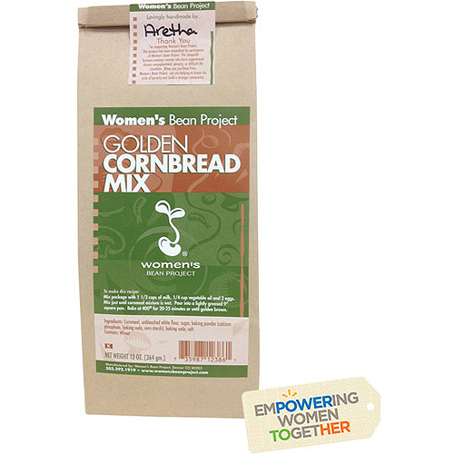 Women's Bean Project Golden Cornbread Mix, 13 oz