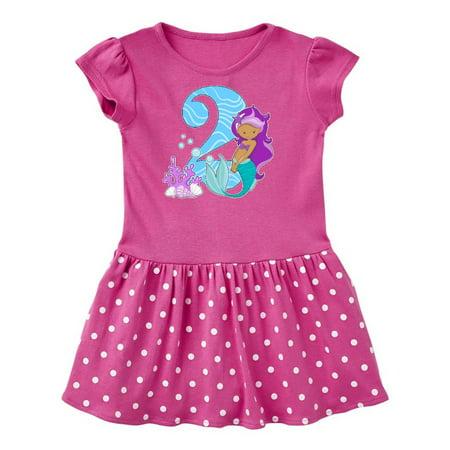 Second Birthday Mermaid Toddler Dress