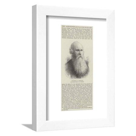Professor R Copeland, Astronomer-Royal for Scotland Framed Print Wall Art ()