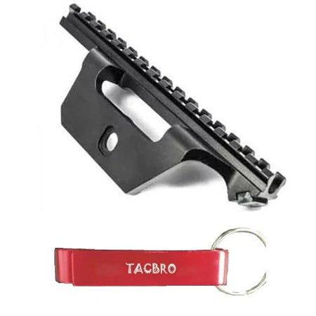 TACBRO See-Thru Scope Mount for M1A/M14 with One Free TACBRO Aluminum Opener(Randomly Selected