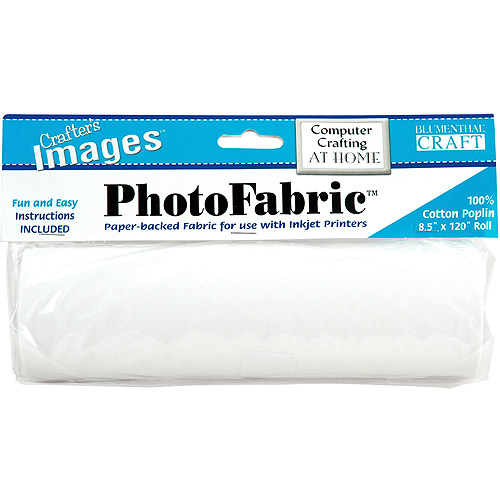 """PhotoFabric for Inkjet Printers, 8.5"""" x 120"""" Roll"""