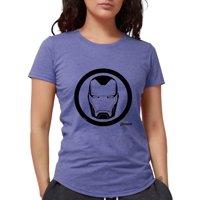 CafePress - Iron Man Logo Womens Tri Blend T Shirt - Womens Tri-blend T-Shirt