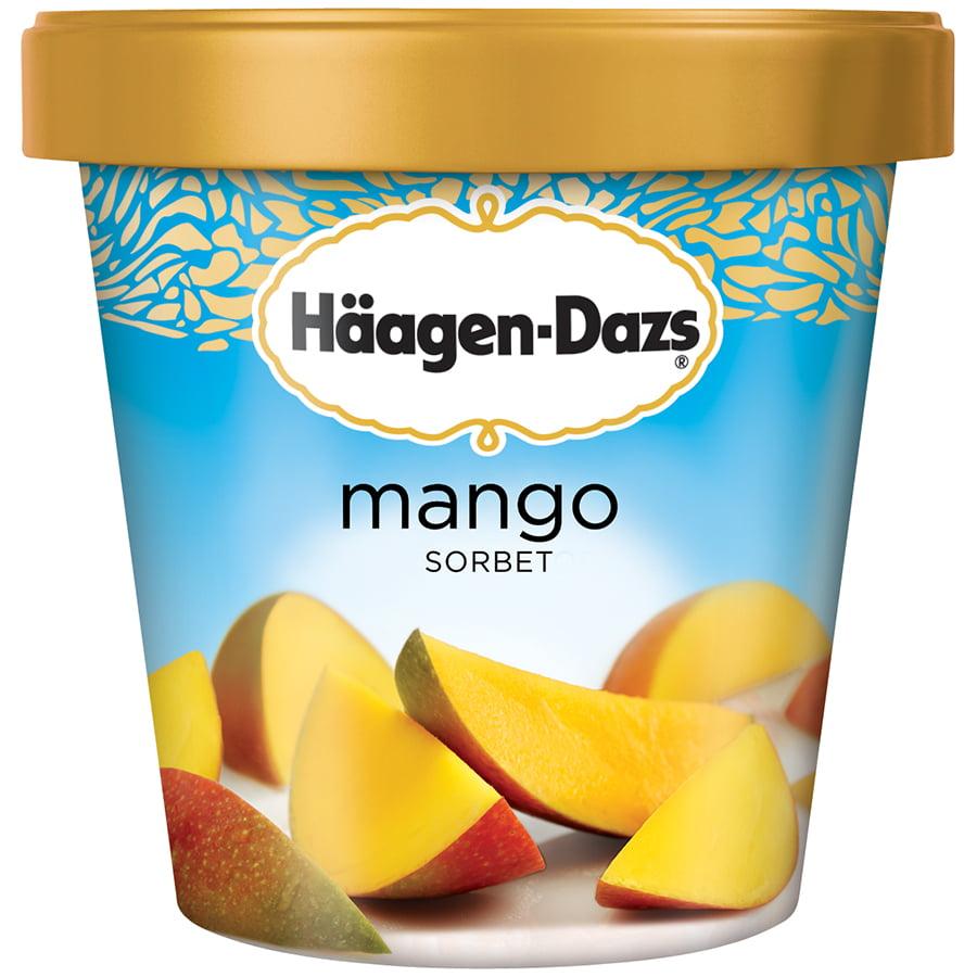 HAAGEN-DAZS Mango Sorbet 14 fl. oz. Carton