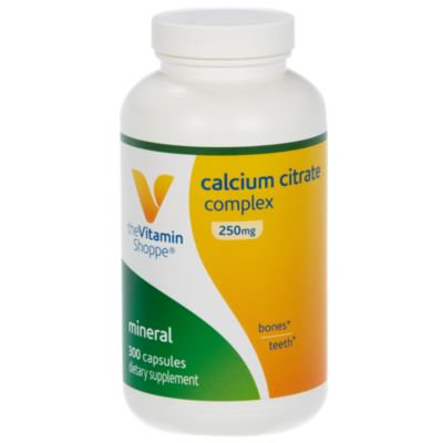 Calcium Citrate Complex 250mg – Mineral Essential for Healthy Bones  Teeth, Well Absorbed Form of Calcium as Calcium Citrate and Carbonate (300 Capsules) by The Vitamin