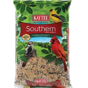 Kaytee Southern Regional Wild Bird Blend, 7-Pound Bag Multi-Colored