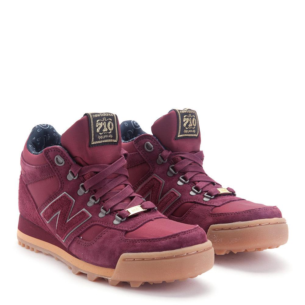 New Balance Men's 710 Herschel Supply Co. Trail Sneakerboots H710HST Burgundy by