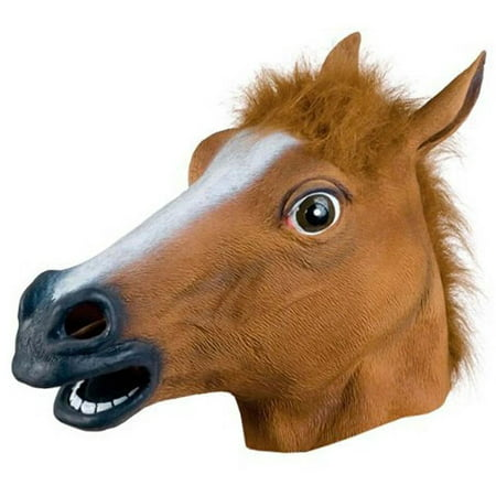 Halloween Cosplay props,Horse Head Mask Latex Animal Costume Prop Gangnam Style for - Gangnam Style Halloween