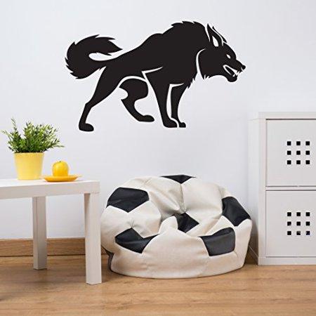 Fierce Dog Wall Decal Wall Sticker Vinyl Wall Art Home Decor Wall Mura