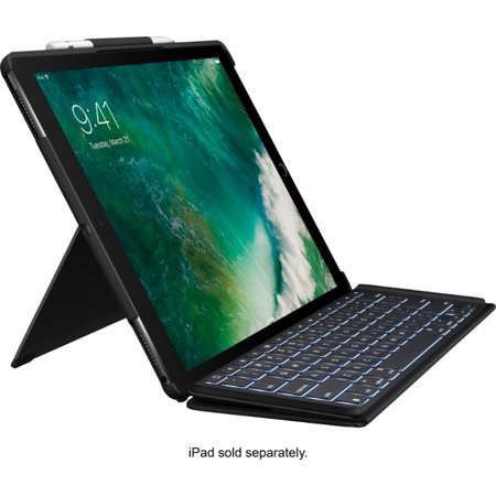 Logitech Slim Combo Keyboard Folio Case for Apple 12.9-Inch Ipad (Best Keyboard For Ipad 3)