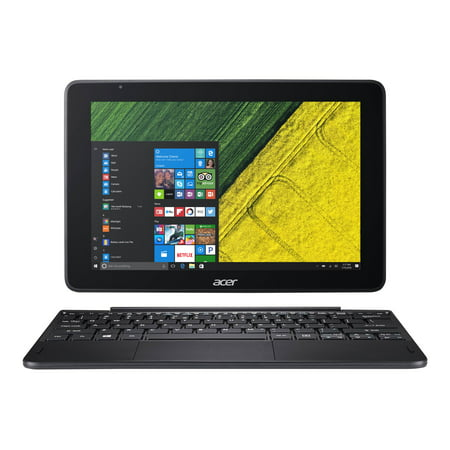 "Acer One 10 S1003-15NJ 10.1"" Touchscreen LCD 2 in 1 Notebook - Intel Atom x5 x5-Z8350 Quad-core (4 Core) 1.44 GHz - 2 GB DDR3L SDRAM - 64 GB Flash Memory - Windows 10 Home"