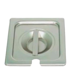 Steam Table Pan Cover Slotted Sixth Size