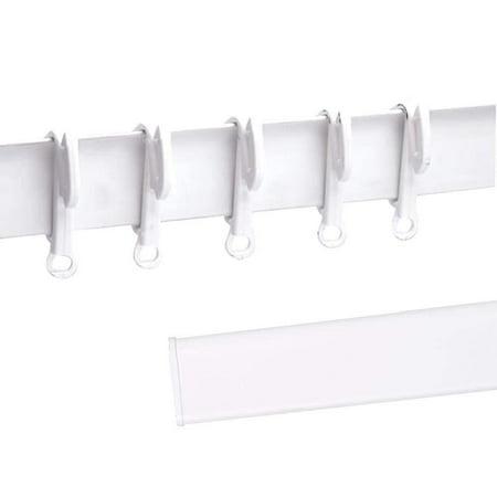 Reactionnx 50pcs Window Curtain Valance Clips Plastic