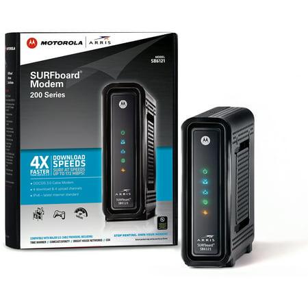 motorola 16x4 cable modem. arris/motorola sb6121 surfboard docsis 3.0 cable modem motorola 16x4 e