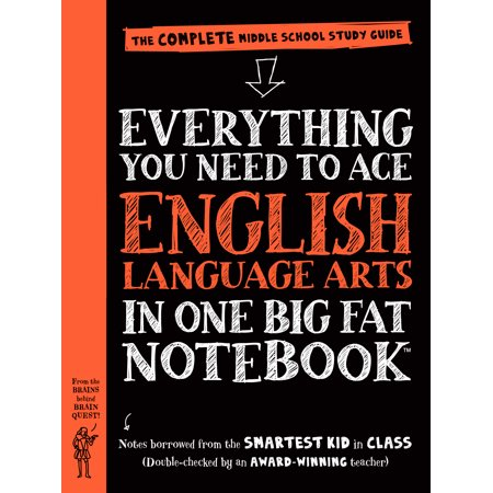 Everything You Need to Ace English Language Arts in One Big Fat Notebook - - Halloween Themed Language Arts Worksheets