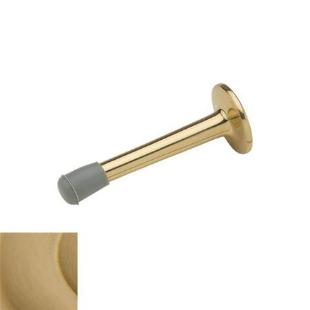 Baldwin 4055033 3.4 in. Wall Door Bumper, Vintage Brass - image 1 de 1