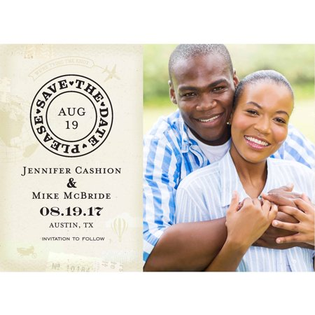Destination Wedding Standard Save the Date - Save The Date Destination Wedding