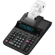 Casio DR120R-BK 12-Digit Large Desktop Printing Calculator, Cost/Sell/Margin, Black
