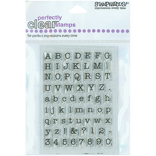 """Stampendous Perfectly Clear Stamps 3"""" x 4"""" Sheet, Snow Place"""