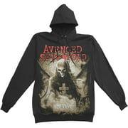 Avenged Sevenfold Men's  Forever Hooded Sweatshirt Black