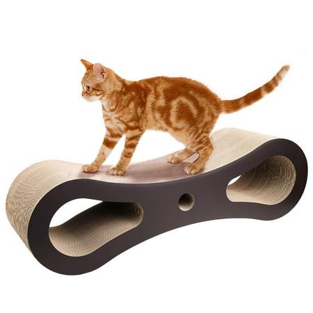 Big Clearance Corrugated Cardboard Cat Toy New Cat Scratcher Lounge Bed Margot