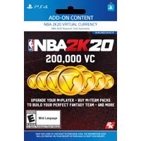 NBA 2K20 200,000 VC, 2K Games, Playstation [Digital Download]