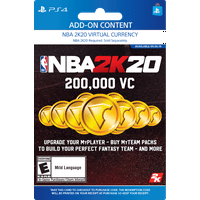 NBA 2K20 200,000 VC, 2K Games, Playstation [Digital Download]