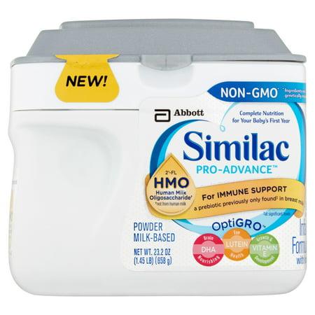 Similac Pro Advance Infant Formula With 2 Fl Human Milk Oligosaccharide  Hmo  For Immune Support  23 2 Ounces