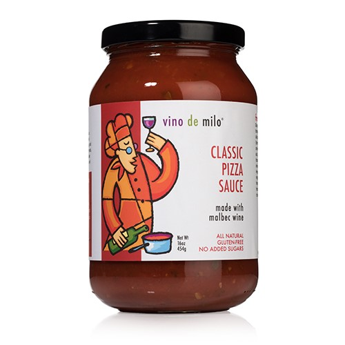 Vino de Milo No Sugar Added Classic Pizza Sauce (16 oz)