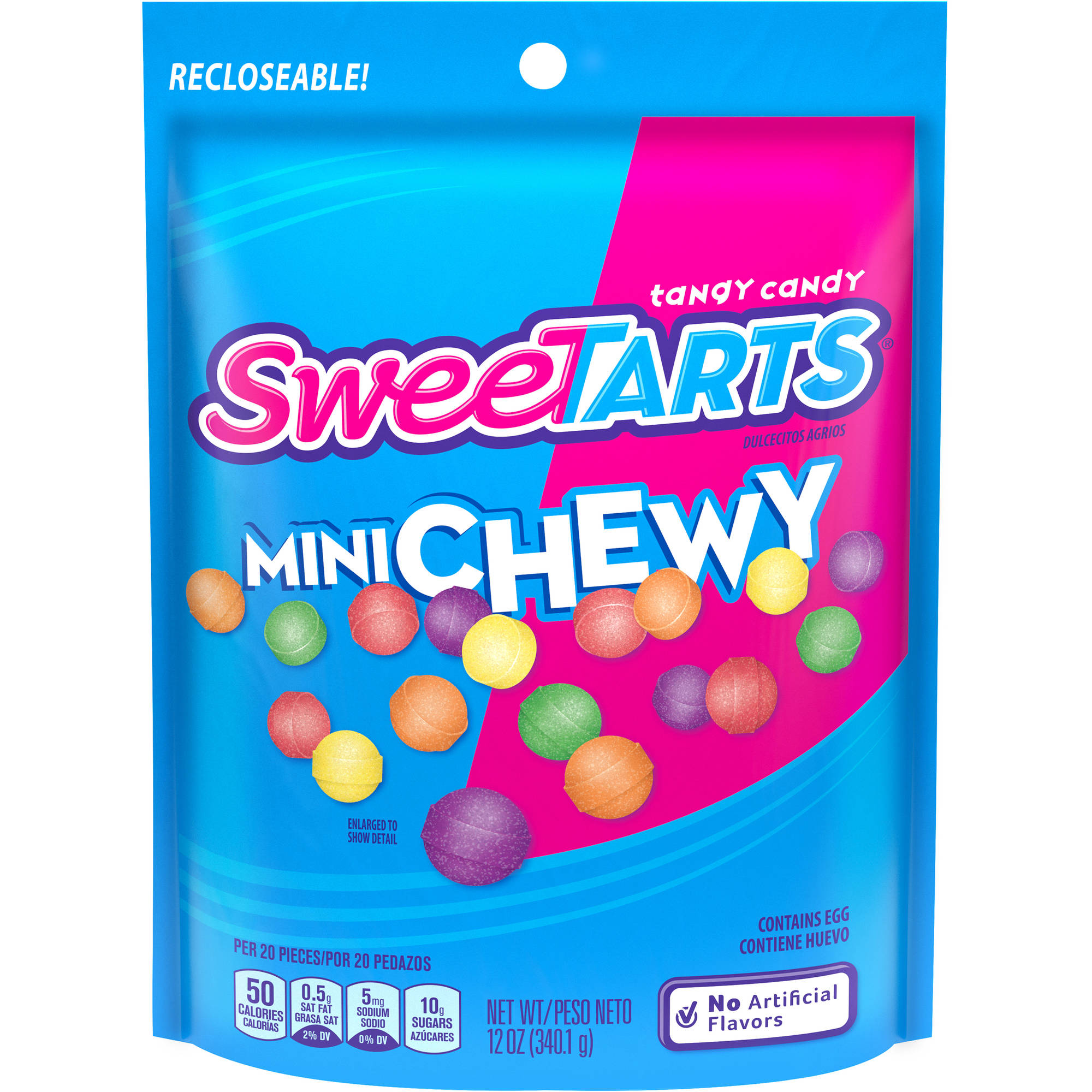 SweeTarts Mini Chewy Candy, 12 oz