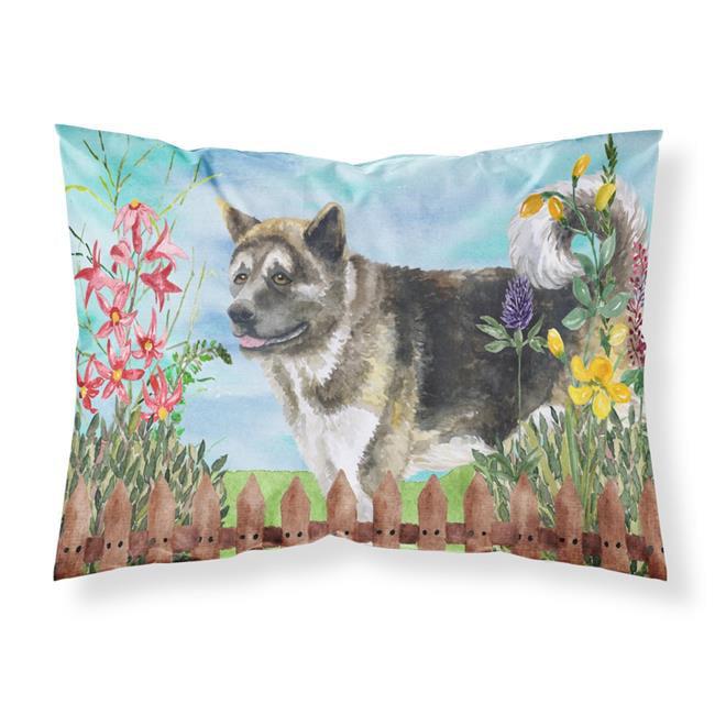 Carolines Treasures CK1231PILLOWCASE American Akita Spring Fabric Standard Pillowcase - image 1 de 1