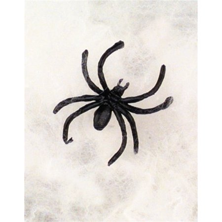 Halloween Spider Webs   Webbing   Spiders   3 Pack