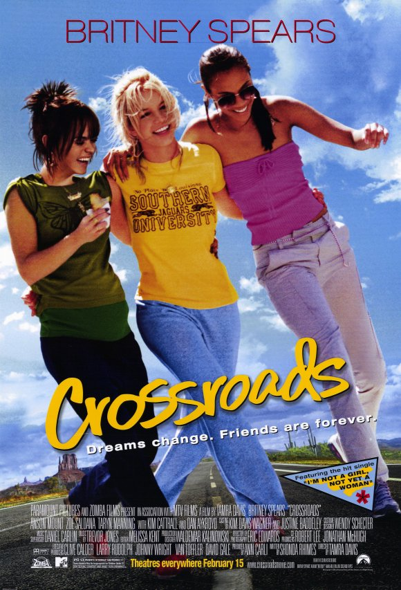 Crossroads (2002) 11x17 Movie Poster by Pop Culture Graphics