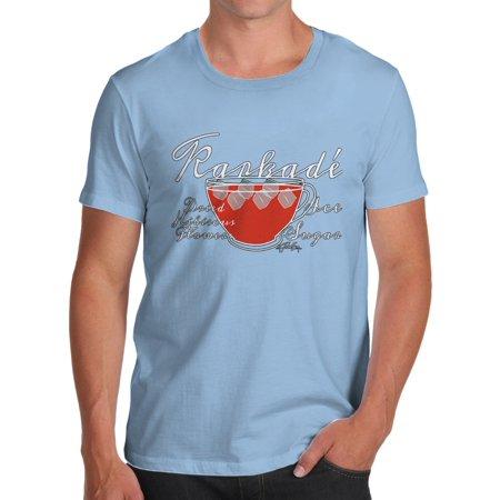 4c1a0fea2fe Men's T-Shirt Tea Recipes Karkade Novelty T Shirt Christmas