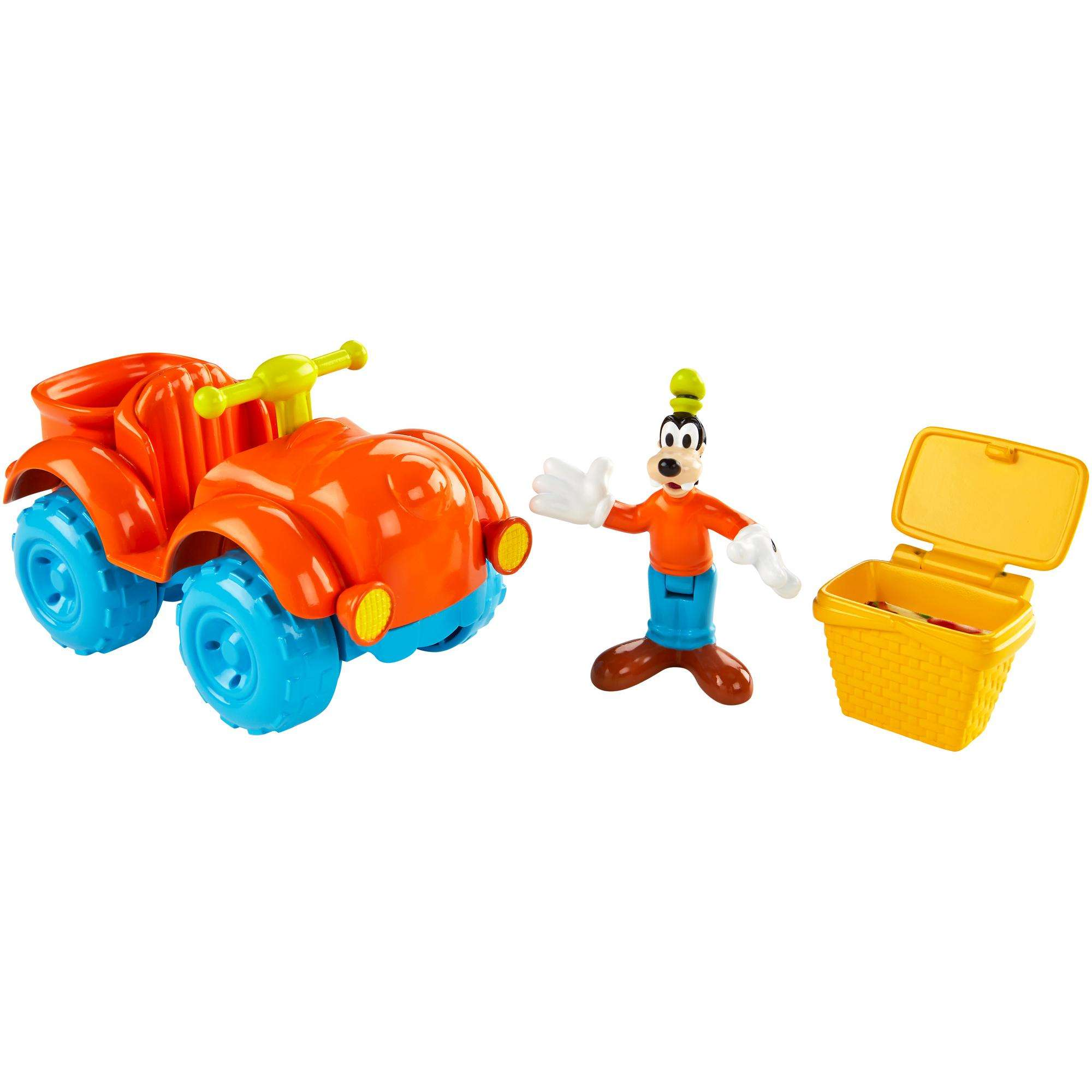 Disney Mickey Mouse Clubhouse Goofy Outdoor Cruiser Playset by Fisher-Price