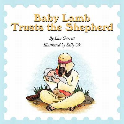 Shepherd Lamb - Baby Lamb Trusts the Shepherd