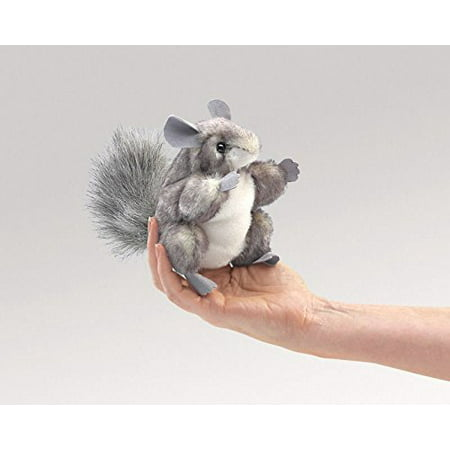 *NEW* PLUSH SOFT TOY Folkmanis 2759 Mini Chinchilla Finger Puppet 10cm /item# R6SG5EB-48Q4290, Do you have questions about this listing? The best way is to contact us.., By Toys 4 U (Best Contact List App)