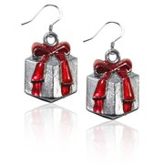 Christmas Tree Charm Dangle in Silver