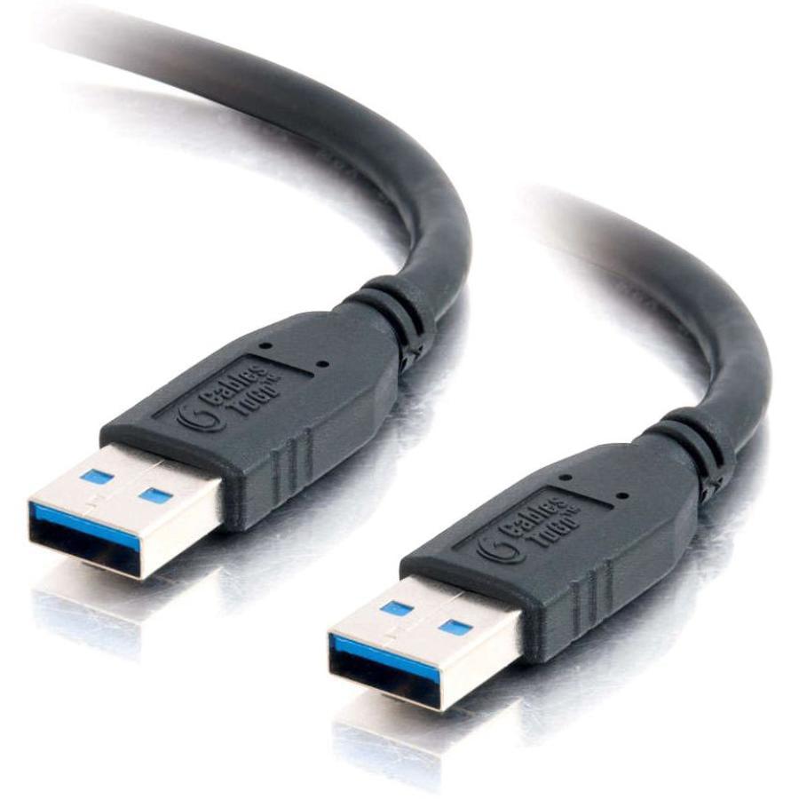 C2G 1m USB 3.0 A Male to A Male Cable (3.2ft) - USB for Hard Disk (Refurbished)