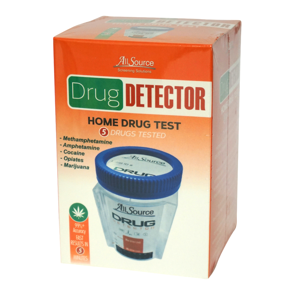 AllSource Drug Detector 5 Panel Home Drug Test