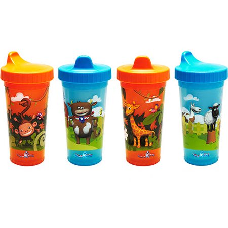 Usa kids boys insulated bpa free sippy cups 4pk - Cups and kids ...