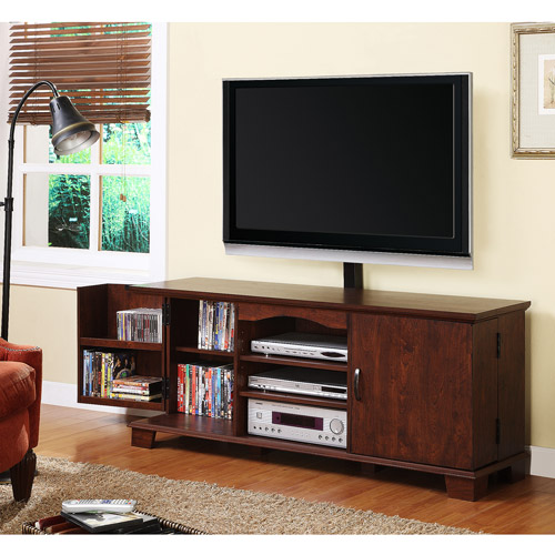 "Walker Edison Black TV Console for TVs up to 60"", Muliple Colors"