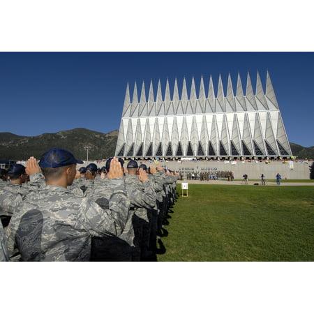 The Class Of 2012 Recites The Oath Of Allegiance Canvas Art   Stocktrek Images  34 X 23